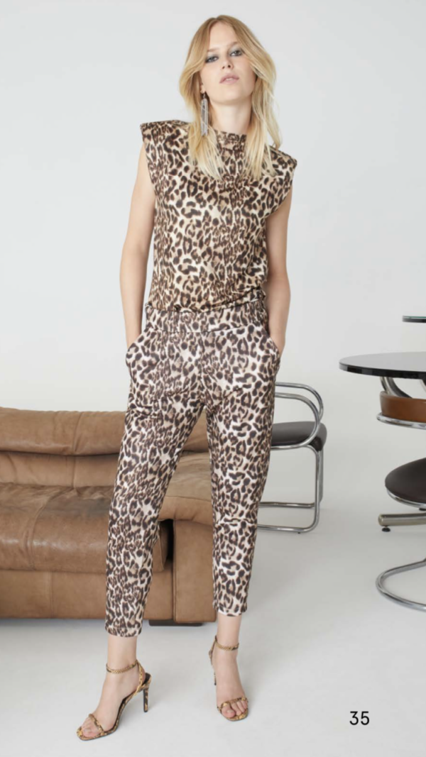 PANTALON LEOPARD PLEASE